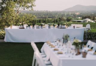Estate Tuscany Hunter Valley Wedding Venue Outdoor Reception