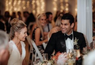 Bundaleer Rainforest Gardens Brisbane Wedding Venue Couple Marquee