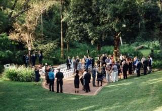 Bundaleer Rainforest Gardens Brisbane Wedding Venue Garden Ceremony Guests