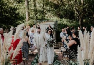Bundaleer Rainforest Gardens Brisbane Wedding Venue Garden Ceremony