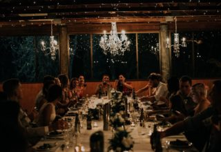 Bundaleer Rainforest Gardens Brisbane Wedding Venue Inside Treetops Room