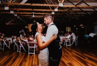 Bundaleer Rainforest Gardens Brisbane Wedding Venue Couple Inside Treetops Room