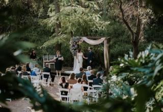 Bundaleer Rainforest Gardens Brisbane Wedding Venue Waterfall Deck Ceremony