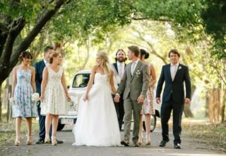 Bundaleer Rainforest Gardens Brisbane Wedding Venue Bridal Party