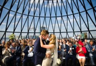 Wedding at The Gherkin London