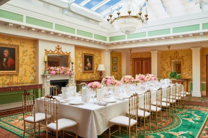 The Lanesborough London Luxury Wedding Venue Westminster Room