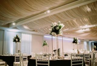The Ivory Elsternwick Melbourne Wedding Venue Ballroom Reception Table Decor