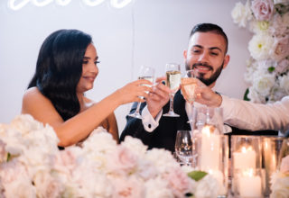 The Ivory Elsternwick Melbourne Wedding Venue Love And Other Photography Ballroom Reception Close Up Couple Drinks