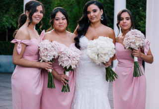 The Ivory Elsternwick Melbourne Wedding Venue Love And Other Photography Bridal Party Rose-Garden Terrace