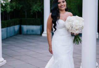 The Ivory Elsternwick Melbourne Wedding Venue Love And Other Photography Bride Rose-Garden Terrace Portrait