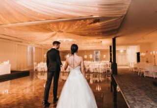The Ivory Elsternwick Melbourne Wedding Venue Ballroom Reception Couple