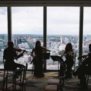Shangri-La The Shard London Luxury Hotel Wedding Venue, Photo By Kristian Leven Photography