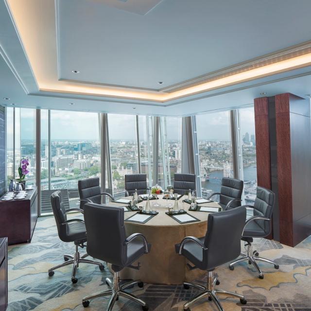 Shangri La The Shard London Luxury Meeting Venue Yi Room