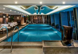 Shangri La The Shard Hotel London Swimming Pool