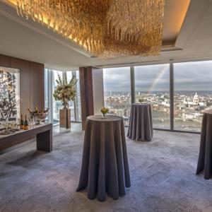 Shangri-La Hotel, At The Shard, London Private Event Venue, Li Room - Reception