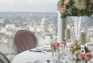 Shangri-La Hotel, At The Shard, London, Li Room wedding