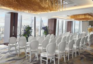 Shangri-La Hotel The Shard, London, Ren Ballroom ceremony