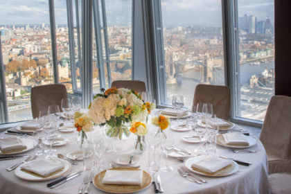 Shangri-La Hotel The Shard London Yi Room Private Dining
