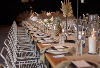 The Island Gold Coast, Surfers Paradise, Waterfront Wedding Venue, Table Settings