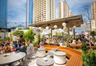 The Island Gold Coast, Surfers Paradise, Waterfront Wedding Venue, The Glasshouse, Rooftop