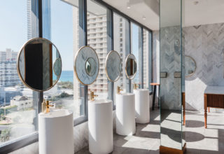 The Island Gold Coast, Surfers Paradise, Waterfront Wedding Venue, The Penthouse, Bathrooms