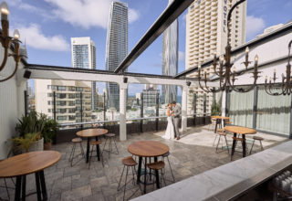 The Island Gold Coast, Surfers Paradise, Waterfront Wedding Venue, The Penthouse, Outdoor
