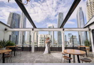 The Island Gold Coast, Surfers Paradise, Waterfront Wedding Venue, The Penthouse, Outdoors