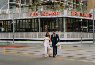 The Island Gold Coast, Surfers Paradise, Waterfront Wedding Venue, Outside Walking