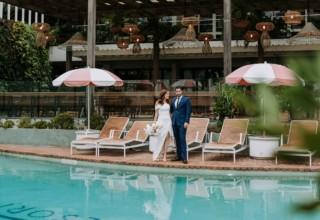 The Island Gold Coast, Surfers Paradise, Waterfront Wedding Venue, Pool Deck