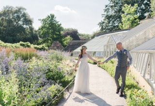 Fulham Palace Wedding Venue London, Bride & Groom, Marquee and Garden