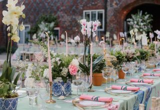 Fulham Palace London, Outdoor Wedding Venue, Wedding Reception Setup