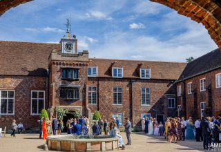 Fulham Palace London, Events and Wedding Venue, Tudor Courtyard, Photo by James White Photography