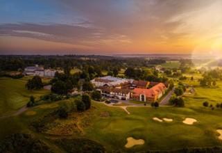 De Vere Wokefield Estate, Wedding, Corporate Event Venue, Aerial Golf Course View