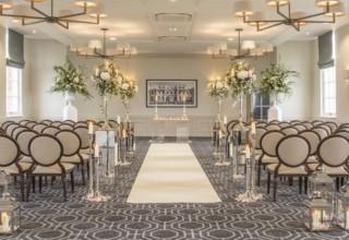 De Vere Wokefield Estate, Reading Wedding Venue, Indoor Wedding Ceremony