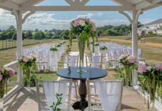 De Vere Wokefield Estate, Outdoor Wedding Ceremony, Berkshire