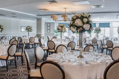 De Vere Wokefield Estate, Berkshire Wedding Venue, Terrace Suite Reception