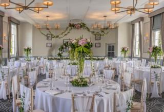 De Vere Wokefield Estate, Berkshire Wedding and Events Venue, Lincoln Suite Wedding Breakfast