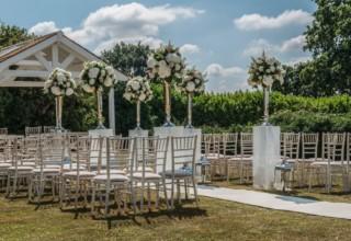 De Vere Wokefield Estate, Berkshire Wedding & Event Venue, Outdoor Garden Ceremony