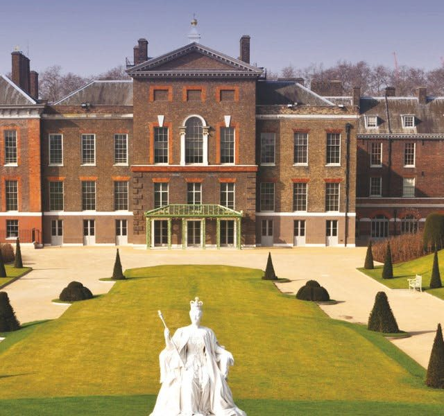 Exterior view of Kensington Palace, London Wedding and Events Venue