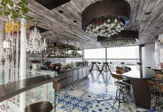 Duck and Waffle London, Weddings and Events Venue, Bar Area Side View