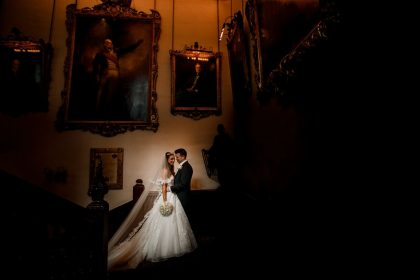 Ironmongers' Hall London Wedding Venue, Grand Staircase, Damion Mower Photography