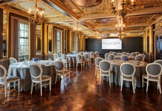 Hotel Cafe Royal, Corporate Event Venue London, Pompadour Room Conference