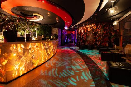 Lounge and Bar on 39th Floor at SUSHISAMBA London Herron Tower, Event and Party Venue